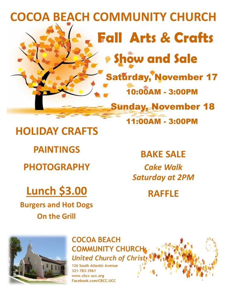 Art and Craft show sale 11.18